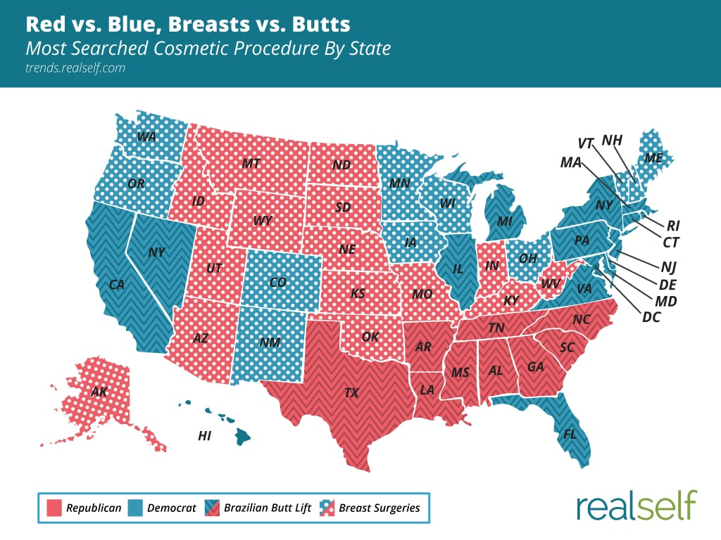 Election 2016: Here's a Red vs. Blue State Map That Isn't Boring
